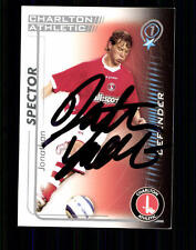 Jonathan Spector Charlton Athletic SB 2005-06 Orig. Sign.