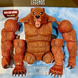 URSA MAJOR BAF Marvel Legends Head Torso R L Arm Leg Left Winter Guard UPICK
