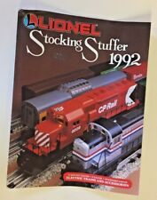 Vintage 1992 Lionel Trains Stocking Stuffers Catalog Toy Electric Accessories