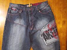 Akademiks CDC0100964 Mens Denim Jeans Pants Size 38 Waist 37