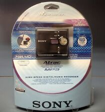 Sony Mz-Ne410 High Speed 32X Net Md Walkman Recorder Complete!