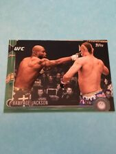 Rampage Jackson UFC 2015 Topps Chronicles Green #41  89/288