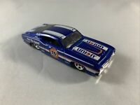 Hot Wheels - '69 Ford Torino Talladega Blue - Diecast Collectible - 1:64 Scale