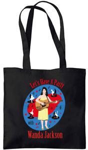 Wanda Jackson - Let's Have A Party - Tote Bag (Jarod Art Design)