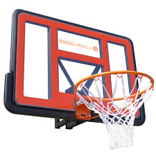 Bee-Ball Ultimate ZY-020 Heavy Duty Basketball Backboard and Flex Ring Hoop Net