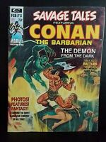 "Marvel Comics- Savage Tales ""Conan the Barbarian"" # 3 - c.1973"