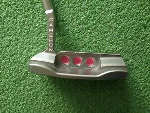 Scotty Cameron Select Newport Titleist Putter Custom Paintfill Pink Matador Grip