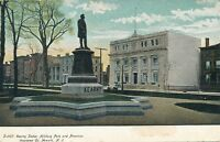 NEWARK NJ–Kearny Statue, Military Park and American Insurance Co.-udb (pre 1908)