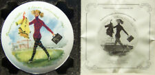 Limoges Women of the Century #11 Francoise In Trousers, 1960 +Coa - New!