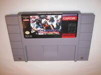 Capcom's MVP Football (Super Nintendo SNES) Game Cartridge Vr Nice!