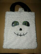 HALLOWEEN GHOST PLUSH TRICK OR TREAT CANDY BAG BRAND NEW WITH TAGS