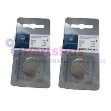 Genuine Mercedes-Benz Keyless Remote Coin Battery 000828038810 Set of 2