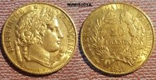 FRANCIA año 1851 A Paris. 20 Francos Oro CERES. Peso 6,45 gr.