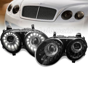 M85-1101P-ASH2 Housing for Bi-xenon Headlight Black Led Housing for Bentley M851