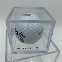 Mi-Hyun Kim Signed Autographed Golf Ball PGA With JSA COA