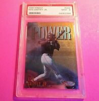 1997 Topps Finest #342 GOLD Rare, Power KEN GRIFFEY Jr PSA 9 Mint HOF.