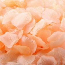 5000 PCS PEACH Silk Flower Rose Artificial Petals Wedding Party Romantic Decor
