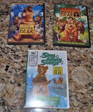 Disney - Brother Bear DVD Lot: Brother Bear 1 & 2 + Sing-Along Songs
