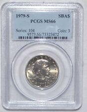 1979-S SUSAN B. ANTHONY DOLLAR - PCGS - MS 66