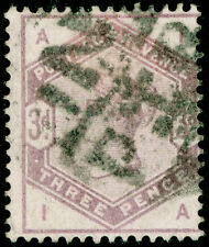 SG191, 3d Lilas, used. Cat £ 100. Ia