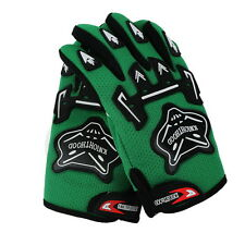 Green Cool Youth/Kids Motorcycle Off-Road MX Dirt Bike GLoves For ATV Motocross