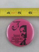 Vintage JESSE JACKSON '88 President Political Election pin button pinback *A