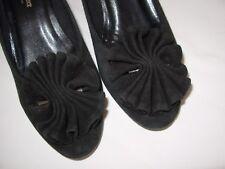 ELIZABETH STUART Escarpins Femme daim noir P.37