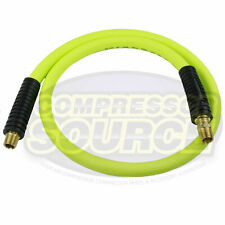 New Flexzilla 12 X 4 Ft Air Hose Whip With 38 Mnpt Swivel Hfz1204yw3s