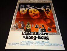L' AVENTURIERE DE HONG KONG Jim Kelly blaxploitation affiche cinema 1975 karate