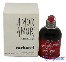 Amor Amor ABSOLU By Cacharel Tster 1.7/1.6 Oz Edp Spary New Tster  For Women