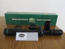 Mueller Rifle Scope 8-32x44 Hunting Target Dot Side Focus Sniper Tactical Gun