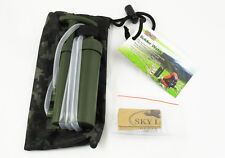 Mini Soldier Portable Water Filter for Outdoor Survival Hiking Climing Camping