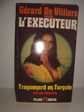 LIVRE DE POCHE L EXECUTEUR TRAQUENARD EN TURQUIE 39