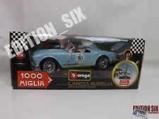 Brurago 1:18 1955 LANCIA AURELIA B24 SPIDER 1000 Miglia Classic Italian Car