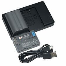 DSTE 2PCS EN-EL3E D300(2200mAh/7.4V) Battery Charger Set for Nikon D30 D50 D70 D