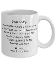 Dad Mug From Daughter 11 oz Fathers Day Coffee Cup Funny Gift For Daddy Love m30