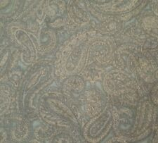 St Nicole Designs BTY Benartex Taupe Bluish Gray Packed Paisley