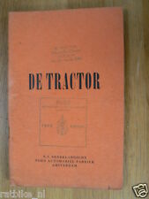 FORD TRAKTOR  FORDSON MAJOR 1949 MANUAL DUTCH B