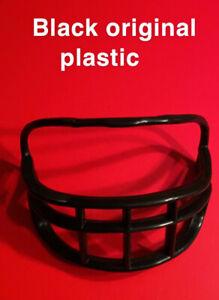 RIDDELL MINI HELMET Facemask Conversion Kit Black Replacement Vtg NFL Football