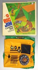 Big Jim Campin' Tent Toy by Mattel 1972 w/ Box Camping