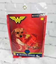 New Wonder Woman DC Pet Cape S/M Rubies Costume Justice League Small Dog Puppy