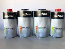 2 Quarts European Clear Coat 45% Solids 2K 2:1 Mix High Gloss W/Medium Hardener