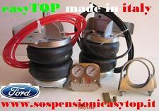 SOSPENSIONI MOLLE ARIA easyTOP CAMPER FURGONE FORD TRANSIT gemellato 135 T 350