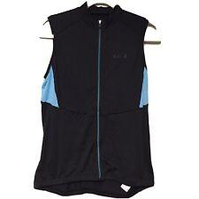 Louis Garneau Women's Icefit Jersey Cycling Bike Black SleeveLess Shirt Sz. L