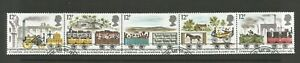 GB 1980 150th Anniversary Of Liverpool & Manchester Railway SG 1113a Strip Of 5