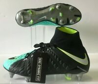 Nike Hypervenom Phantom III DF SG-PRO ACC Soccer Cleats Size 9 (881548-401)