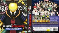 Assassination Classroom (Sea.1 & 2 + SP + Film + 2 Movie) ~ English Version ~