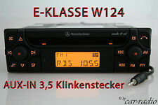 Original Mercedes Audio 10 CD MF2910 AUX-IN MP3 Autoradio W124 E-Klasse S124