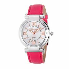 Ladies Girls Analogue Smart Rose Gold Silver Watch Watches Kids Pink Strap UK