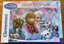 Disney Frozen Large Jigsaw Maxi Super Colour (104 Pieces) - New & Sealed
